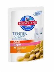 Hill's SP Feline Adult Light Chicken 85g