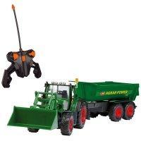 Dickie Toys Markolós traktor utánfutóval