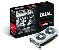 ASUS Radeon RX 460 2GB GDDR5 128bit PCIe (DUAL-RX460-2G)