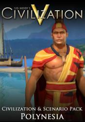 2K Games Sid Meier's Civilization V Civilization and Scenario Pack Polynesia (PC)