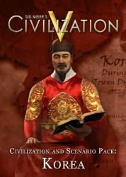 2K Games Sid Meier's Civilization V Civilization and Scenario Pack Korea (PC)