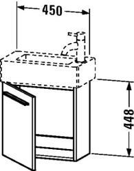 Duravit X-Large mosdó szekrény 45 6208
