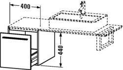 Duravit X-Large mosdó szekrény 40 6732