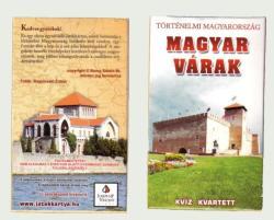 Magyar várak kvartett kártya