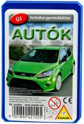 Piatnik Autók - technikai gyermekkártya