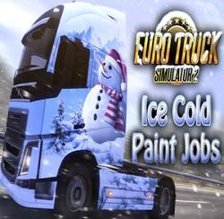 SCS Software Euro Truck Simulator 2 Ice Cold Paint Jobs Pack (PC)