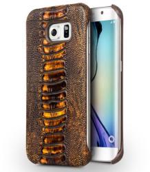 Qialino Ostrich Leg Samsung Galaxy S6 Edge