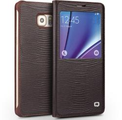 Qialino S-view Window Lizard Samsung Galaxy Note 5
