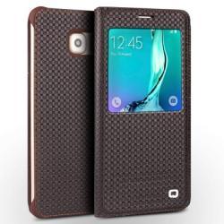 Qialino S-view Window Grid Samsung Galaxy S6 Edge Plus