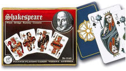 Piatnik Shakespeare 2*55 lapos luxus römikártya
