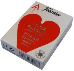 The United Stated Playing Card Company Fournier 100% Plasztik pókerkártya