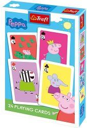 Trefl Peppa malac 24 lapos Francia kártya