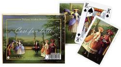 Piatnik Mozart: Cosi fan tutte 2*55 lapos luxus römikártya
