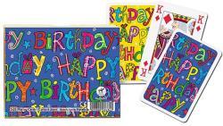 Piatnik Happy Birthday 2*55 lapos luxus römikártya