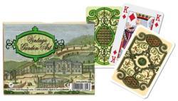 Piatnik Nosztalgia kert 2*55 lapos luxus römikártya