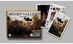 Piatnik Monet galéria 2*55 lapos luxus römikártya