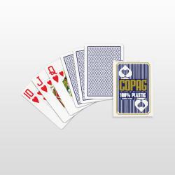 Copag Jumbo Face 100% Plasztik pókerkártya