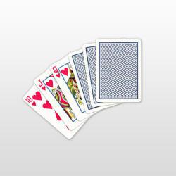 Copag Regular Face 100% Plasztik pókerkártya