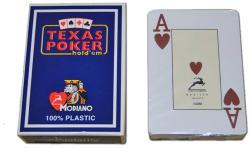 Modiano Cards Texas PK 100% plasztik kártya - 2 Jumbo Indexes