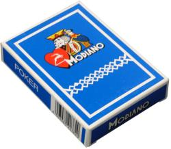 Modiano Cards Poker Club - Standard Indexes plasztik bevonatú kártya