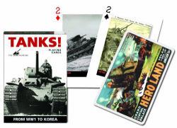 Piatnik Tankok exkluzív römikártya 1*55 lap