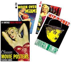 Piatnik Mozi poszterek exkluzív römikártya 1*55 lapos