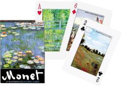 Piatnik Monet Festmények exkluzív römikártya 1*55 lap