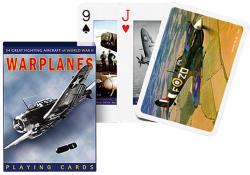 Piatnik Harci repülőgépek exkluzív römikártya 1*55 lap
