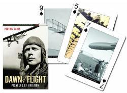 Piatnik A repüléstörténet hajnala exkluzív römi kártya 1*55 lap