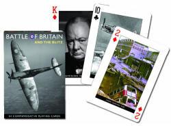 Piatnik Az angliai csata exkluzív römi kártya 1*55 lap