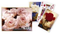 Piatnik Romantika és rózsák kártya