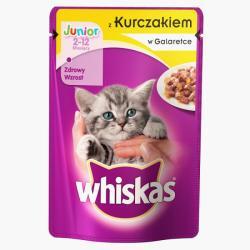 Whiskas Junior Chicken 24x100g