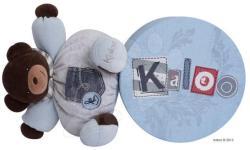 Kaloo Blue Denim Chubby Bear - Puha maci 25cm ajándékcsomagolásban