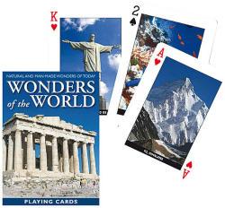 Piatnik A világ csodái - Akropolisz exkluzív römikártya 1*55 lap