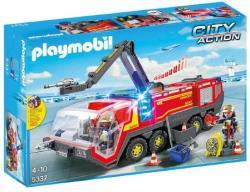 Playmobil City Action repülőtéri tűzoltókocsi (fény-és hangjelzős) (5337)