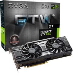 EVGA GeForce GTX 1060 FTW+ DT GAMING ACX 3.0 6GB GDDR5 PCIe (06G-P4-6366-KR)