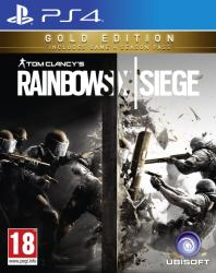 Ubisoft Tom Clancy's Rainbow Six Siege [Gold Edition] (PS4)