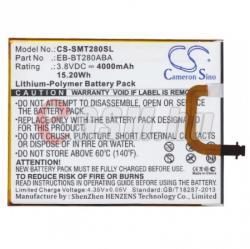 Compatible Samsung LI-ION 4000 mAh EB-BT280FBE