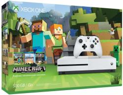 Microsoft Xbox One S (Slim) 500GB + Minecraft