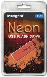 Integral Neon 16GB USB 2.0 INFD16GBNEONOR