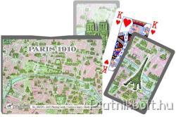 Piatnik Párizs térképe 1910-ben 2*55 lap