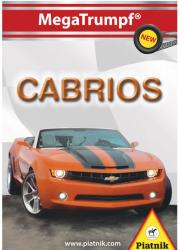 Piatnik Cabrio autók kvartett kártya
