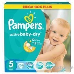 Pampers Active Baby Dry 5 pelenka Mega Box Plus (126db) (10DP010236)