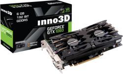 Inno3D GeForce GTX 1060 Twin X2 6GB GDDR5 192bit PCIe (N106F-2SDN-N5GS)