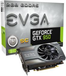 EVGA GeForce GTX 950 SC GAMING 2GB GDDR5 128bit (02G-P4-1956-KR)