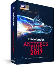 Bitdefender Antivirus Plus 2017 (3 User, 1 Year) VB11011003