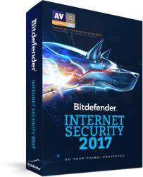 Bitdefender Internet Security 2017 (1 User, 1 Year) VB11031001