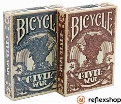 Bicycle Civil War pókerkártya