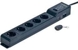 Gembird EnerGenie 5 Plug 1,8m (EG-SP5-TNCU6B-RM)