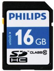 Philips SDHC 16GB Class 10 FM16SD45B